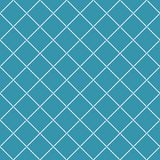Crossing sea ropes diagonal net seamless pattern. Royalty Free Stock Photos