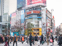 Crossing Shibuya Stock Images