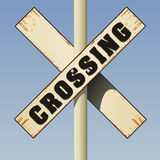 Crossing Sign Royalty Free Stock Image