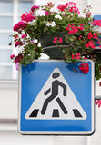 Crossing Sign Stock Image