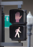 Crossing Sign. Royalty Free Stock Photography