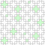 Crossing squares seamless pattern Stock Image
