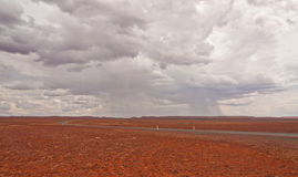 Crossing the Stony Desert Stock Photography