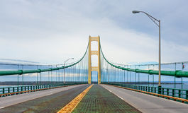 Crossing the Straits of Mackinac Stock Photography