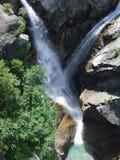 Crossing waterfalls Stock Photo