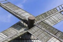 Crossing windmill wings Stock Photos