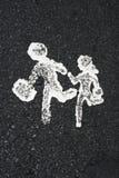 crossing1 Στοκ Εικόνες