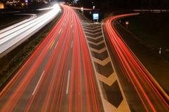 crossinghuvudväg Arkivbilder
