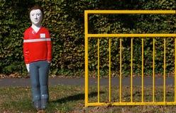 crossingskola Royaltyfria Foton