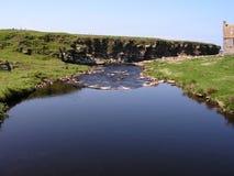 Crosskirk Landschaft. Stockbild