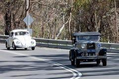 Crossley 1933 voiture de tourisme de 10 puissances en chevaux Images libres de droits