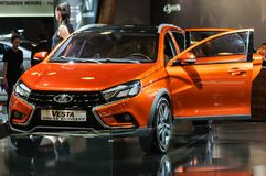 Crossover Lada Vesta Cross Concept Royalty Free Stock Images