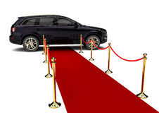 Crossover limousine Stock Images