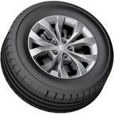 Crossover wheel Royalty Free Stock Photo