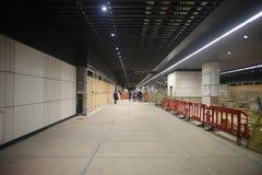 Crossrail di Canary Wharf, Londra Fotografia Stock