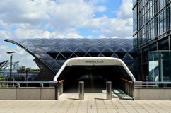 Crossrail Place Entrance Stock Image