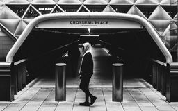 Crossrail Place in London Royalty Free Stock Images