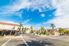 Crossroad in Santa Barbara Stock Photography