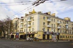 Crossroad Traffic at Sedina street Royalty Free Stock Images