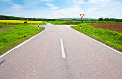 Crossroads Royalty Free Stock Photo