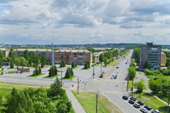 Crossroads city Nizhny Tagil Stock Photography