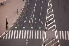 Crossroads stock image