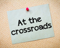 At the crossroads Royalty Free Stock Photos