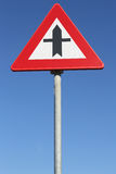 Crossroads with priority. Dutch road sign: crossroads with priority Royalty Free Stock Photos