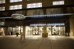 Crosstown Concourse Shopping and Entertainment District, Memphis, Tennessee. This is not just a building limited to the physical – the steel, the stone royalty free stock photos