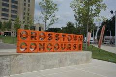 Crosstownsamenkomst, Memphis, TN stock fotografie