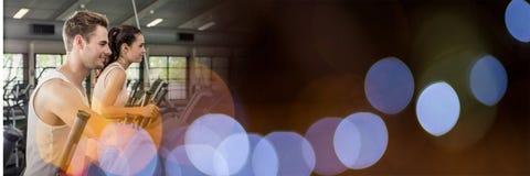 Crosstrainer_blurry gym_0006 库存图片