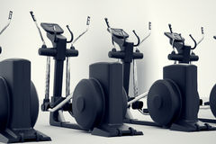Crosstrainers. Royalty Free Stock Images