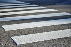 Crosswalk дороги Стоковая Фотография RF
