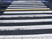 Crosswalk улицы Стоковые Фото
