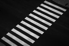 crosswalk photographie stock