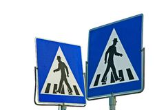 Crosswalk Royalty Free Stock Images