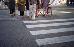 Crosswalk immagine stock