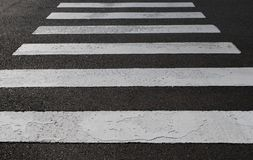 Crosswalk Royalty Free Stock Photo