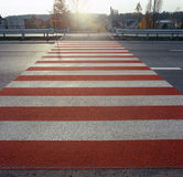 Crosswalk. Royalty Free Stock Images