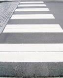 Crosswalk Obrazy Royalty Free