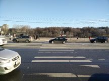 crosswalk Стоковая Фотография