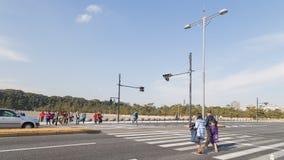 crosswalk Στοκ φωτογραφίες με δικαίωμα ελεύθερης χρήσης