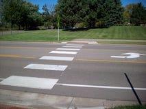 crosswalk Stockbild