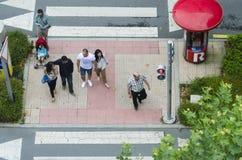 crosswalk photos libres de droits