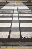 crosswalk Στοκ εικόνα με δικαίωμα ελεύθερης χρήσης