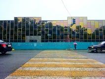 crosswalk Στοκ Φωτογραφία