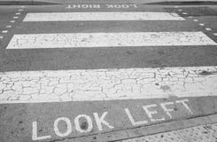crosswalk Obraz Stock