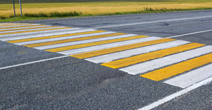 crosswalk photographie stock libre de droits