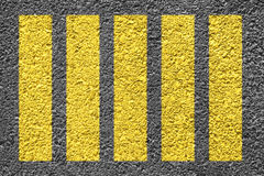 Crosswalk Background Stock Photography