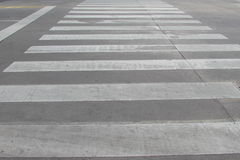 Crosswalk. In Buenos Aires City Royalty Free Stock Images